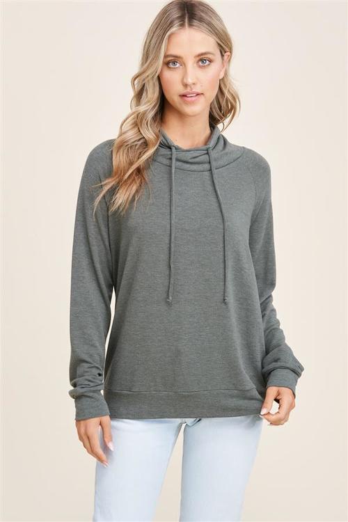 Keeping It Casual Raglan Pullover