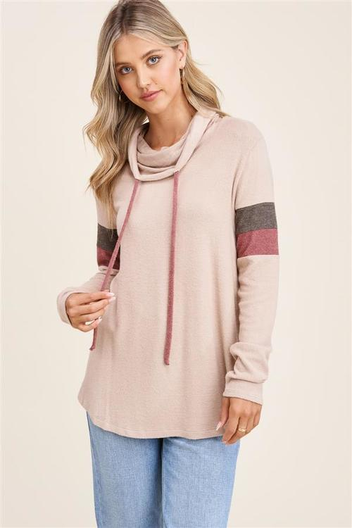 Field Day Color Block Sleeve Pullover