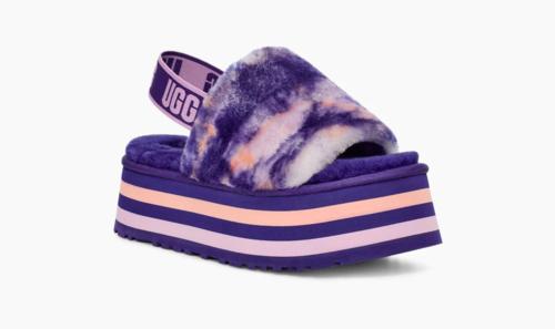 UGG W Disco Marble Slide Violet