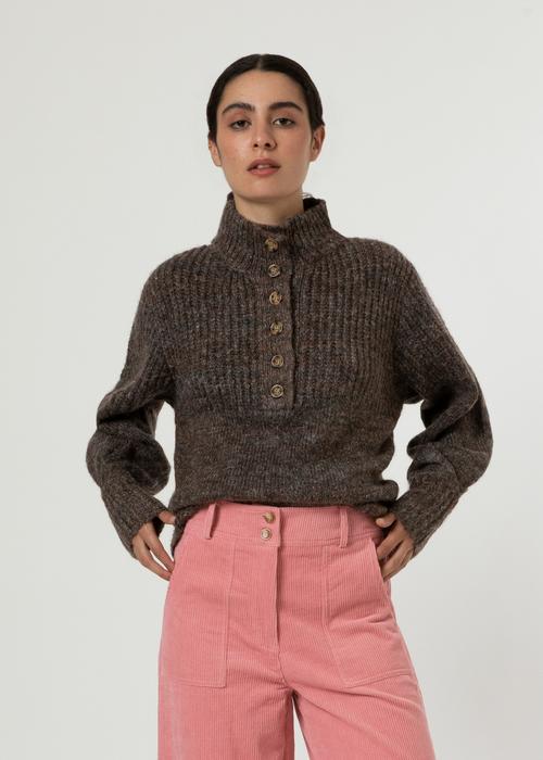 Naja Sweater Maroon