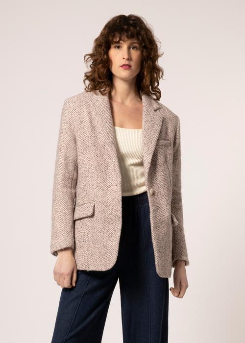 Luana Coat Rose