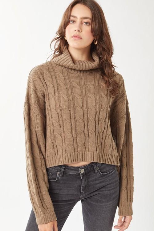 Kayla Sweater Coco Brown