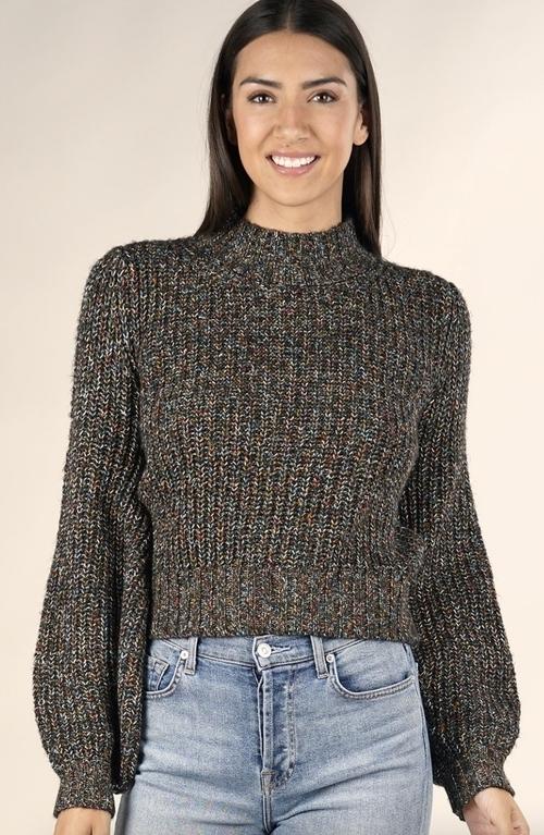 Candy Corn Confetti Sweater
