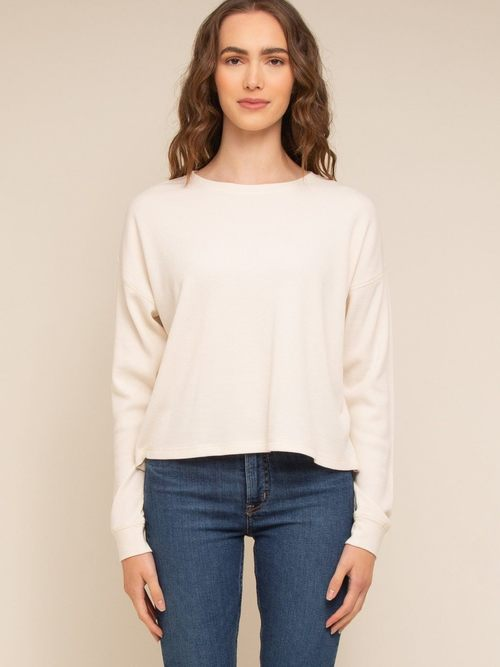 Rossie Top Ivory