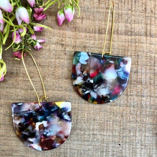 Andie Earrings Confetti