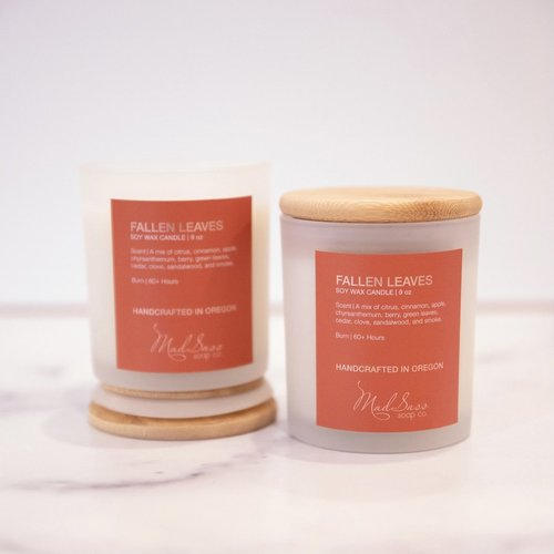 Fallen Leaves 9 oz Candle