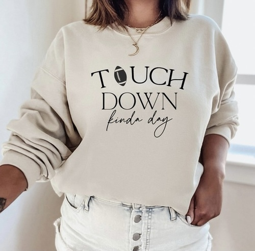 Touch Down Kinda Day Pullover