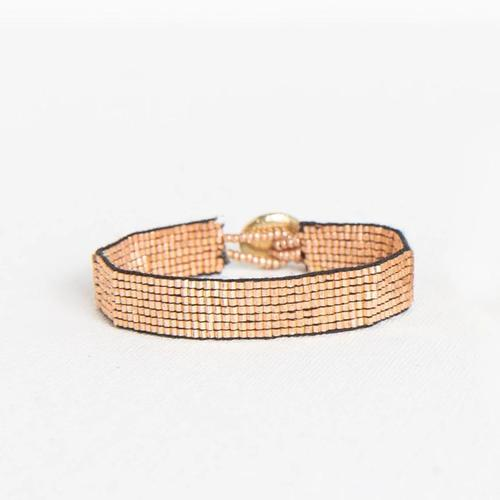 Rose Gold Solid Thin Luxe Bracelet