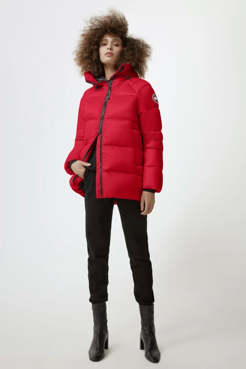 Canada Goose W Cypress Puffer Red
