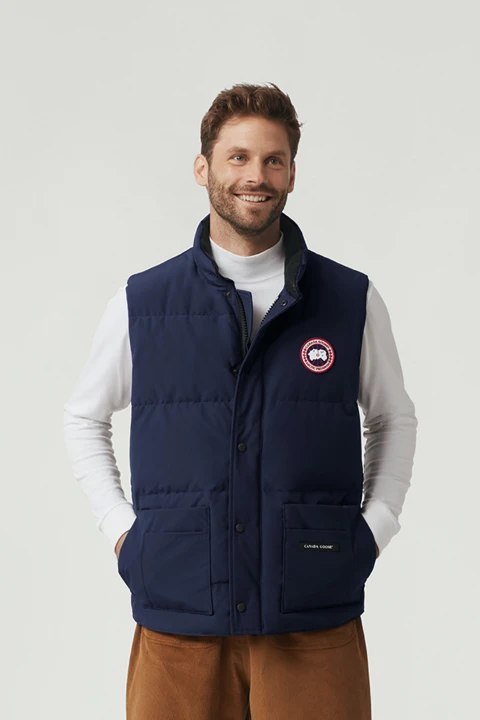 Canada Goose M Freestyle Crew Vest Atl Navy