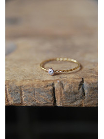 Raster Diamond Ring