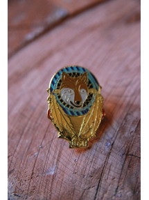 Wolf Pack Dreamcatcher Pin
