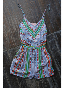 Tiger Stripe Romper