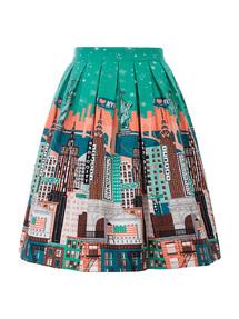 fe533b801f Highland Skirt In Green Tartan | Rosie The Rebel | Canada | Retro ...