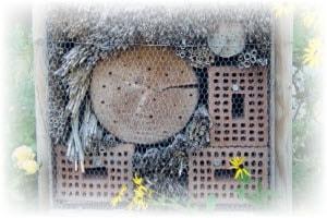Bijenhotel maken van gaas