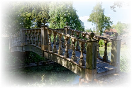 houten brug maken