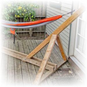 Hangmat Met Stevig Frame.Een Hangmat Standaard Zelf Maken Download De Hangmat Bouwtekening