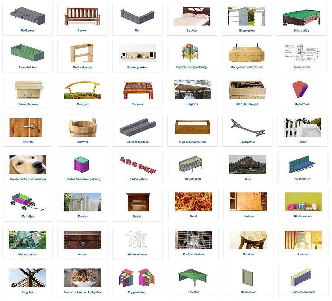 aanbod bouwtekeningen pakket