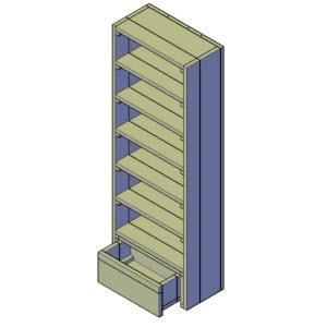 bordenkast bouwtekening