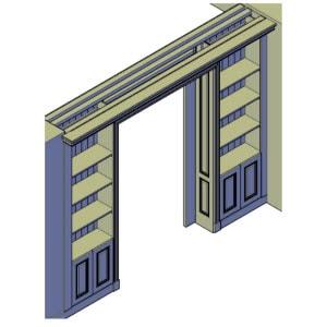 kamer en suite bouwtekening