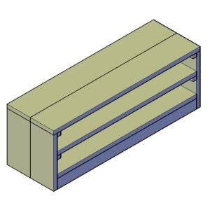 tv meubel bouwtekening