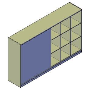 tv meubel wandkast bouwtekening