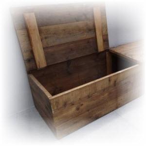 houten kist maken voor buiten