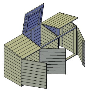 kliko ombouw bouwtekening