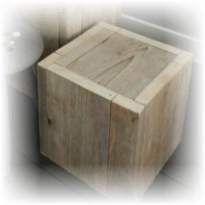 houten krukje maken