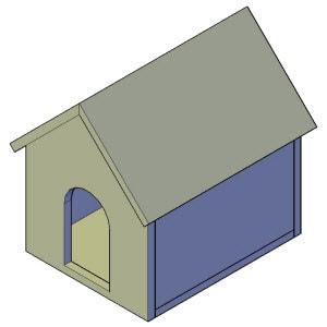 kattenhuis bouwtekening