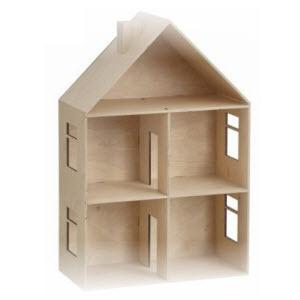 Welp Poppenhuis Maken? Download de bouwtekening! | BouwtekeningenPakket QD-29