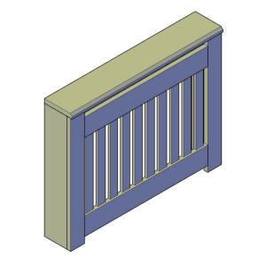 radiatorombouw bouwtekening