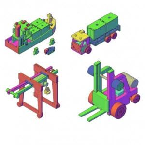 houten speelgoed bouwtekening