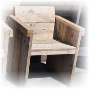 houten stoel maken