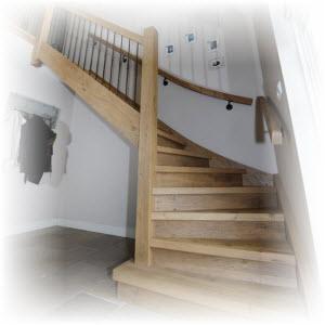 Zelf houten trap maken hier de bouwtekening bouwtekeningenpakket - Houten trap monteer ...