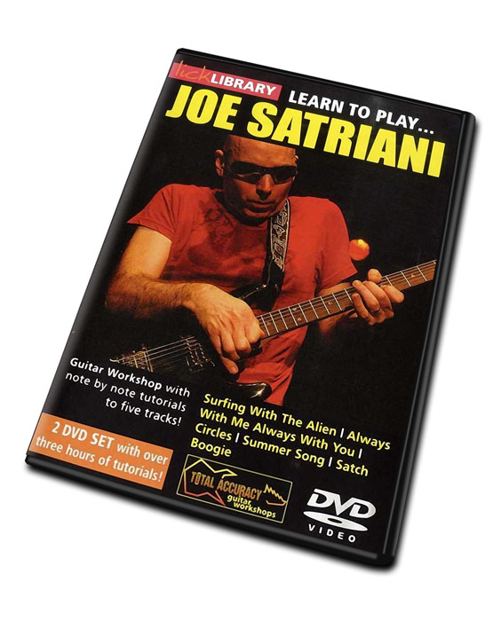 Lick Library LEARN TO PLAY JOE SATRIANI Guitar Video