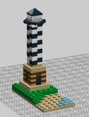 mini lighthouse