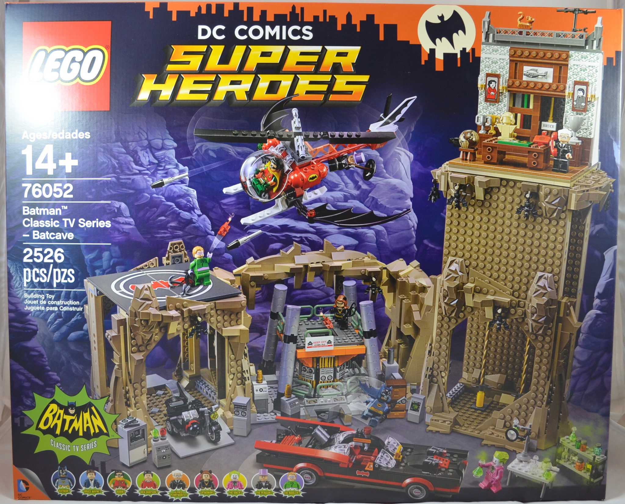 Tv Batman Classic Series Reviews Batcave 76052 ReviewLego wkTOuXZiP