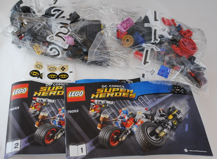 Lego Review Dc Super Heroes Batman Gotham City Cycle Chase 76053 Lego Reviews Brickpicker