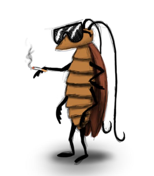 тараканы по мультяшному картинки уточнит