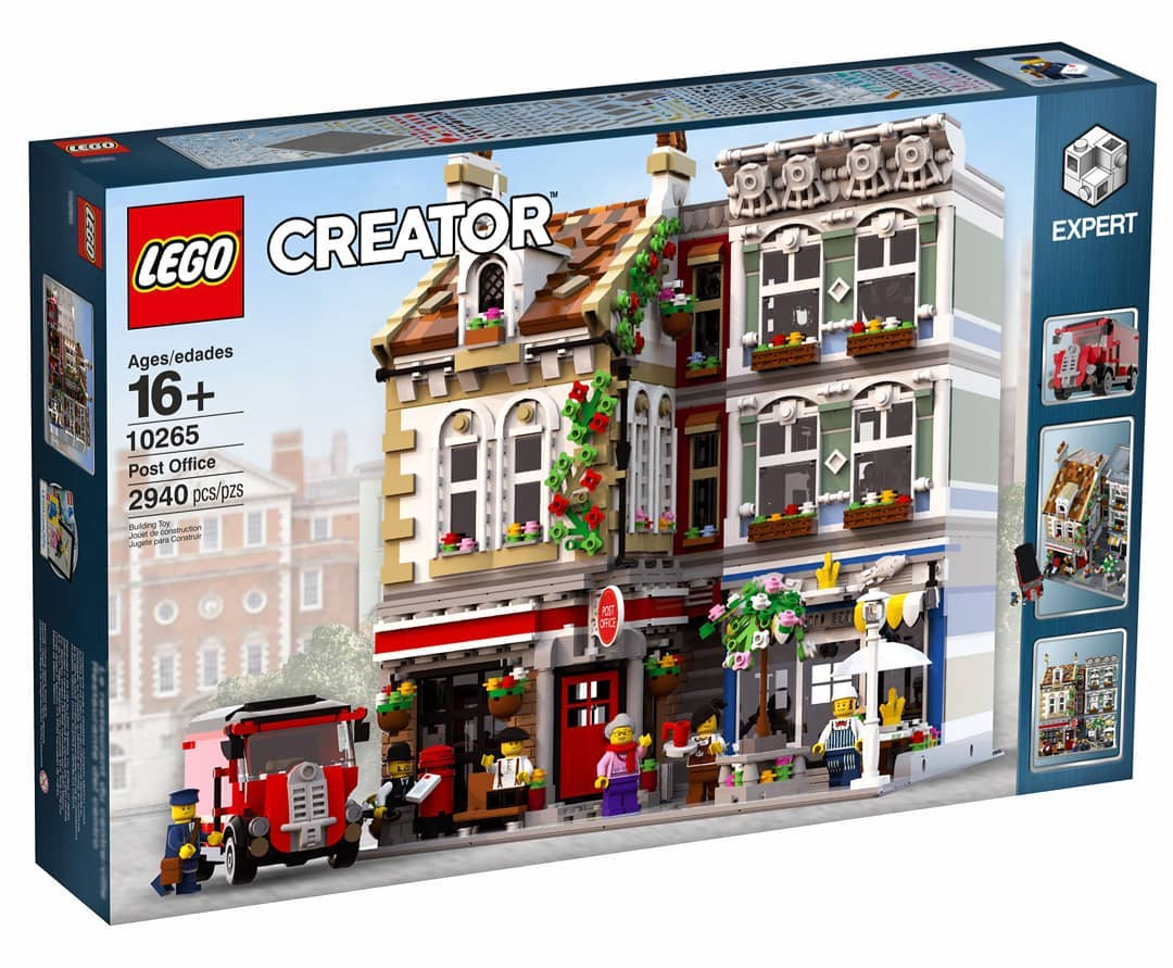 Modular Post Office MOC - Building LEGO - BRICKPICKER