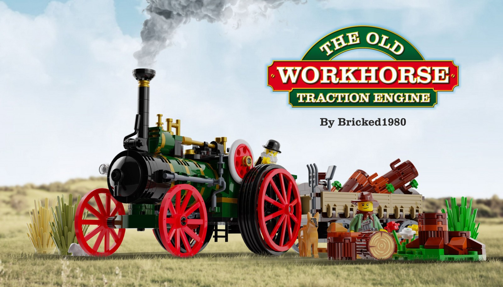 The Old Workhorse - Traction Engine