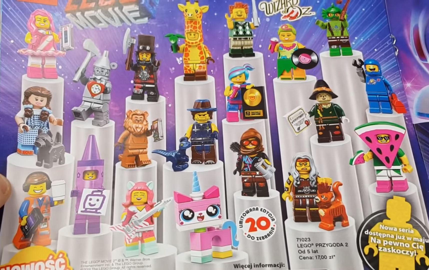 71023 Minifigures The Lego Movie 2 Page 3 Minifigures Brickpicker