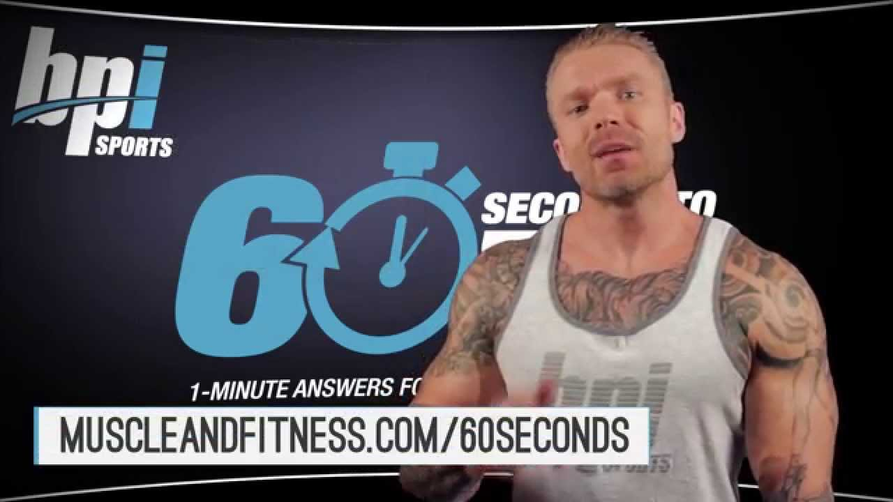 How-To-Get-Bigger-Forearms-60-Seconds-to-Fit-with-James-Grage-BPI-Sports
