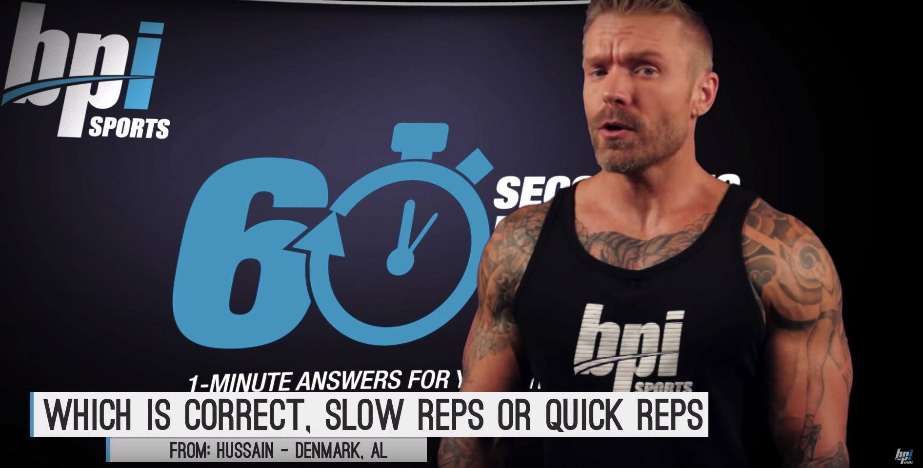 Slow-Reps-vs-Quick-Reps-60-Seconds-to-Fit-with-James-Grage-BPI-Sports