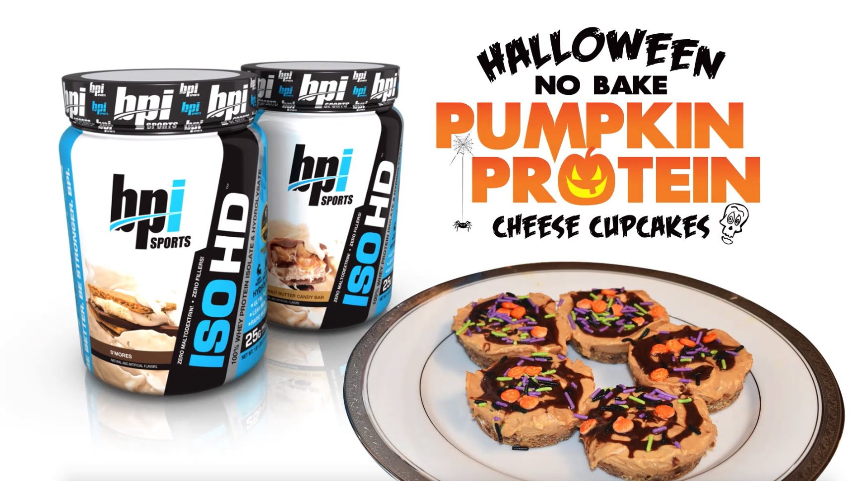 Halloween-No-Bake-Protein-Cheesecake-Chef-Geo-BPI-Sports