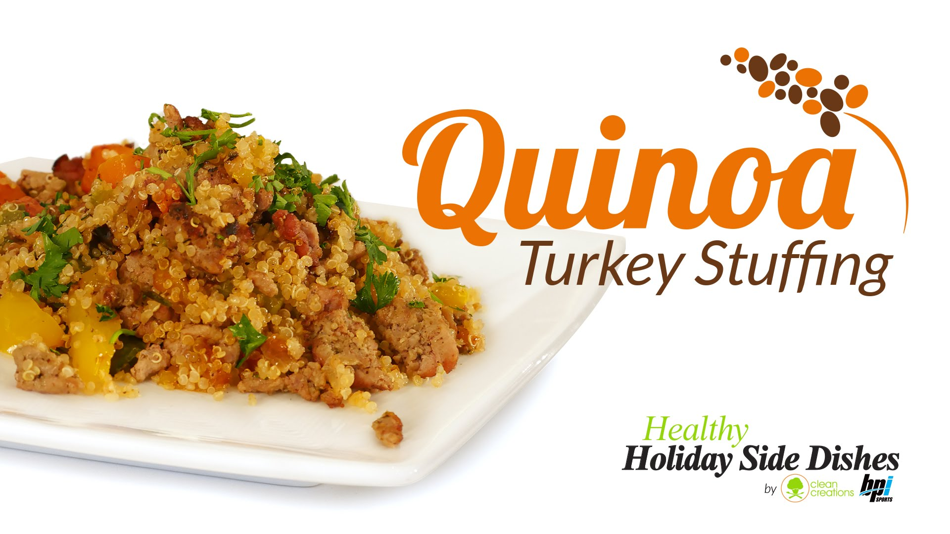 Quinoa-Turkey-Stuffing-5-Healthy-Holiday-Side-Dishes-BPI-Sports