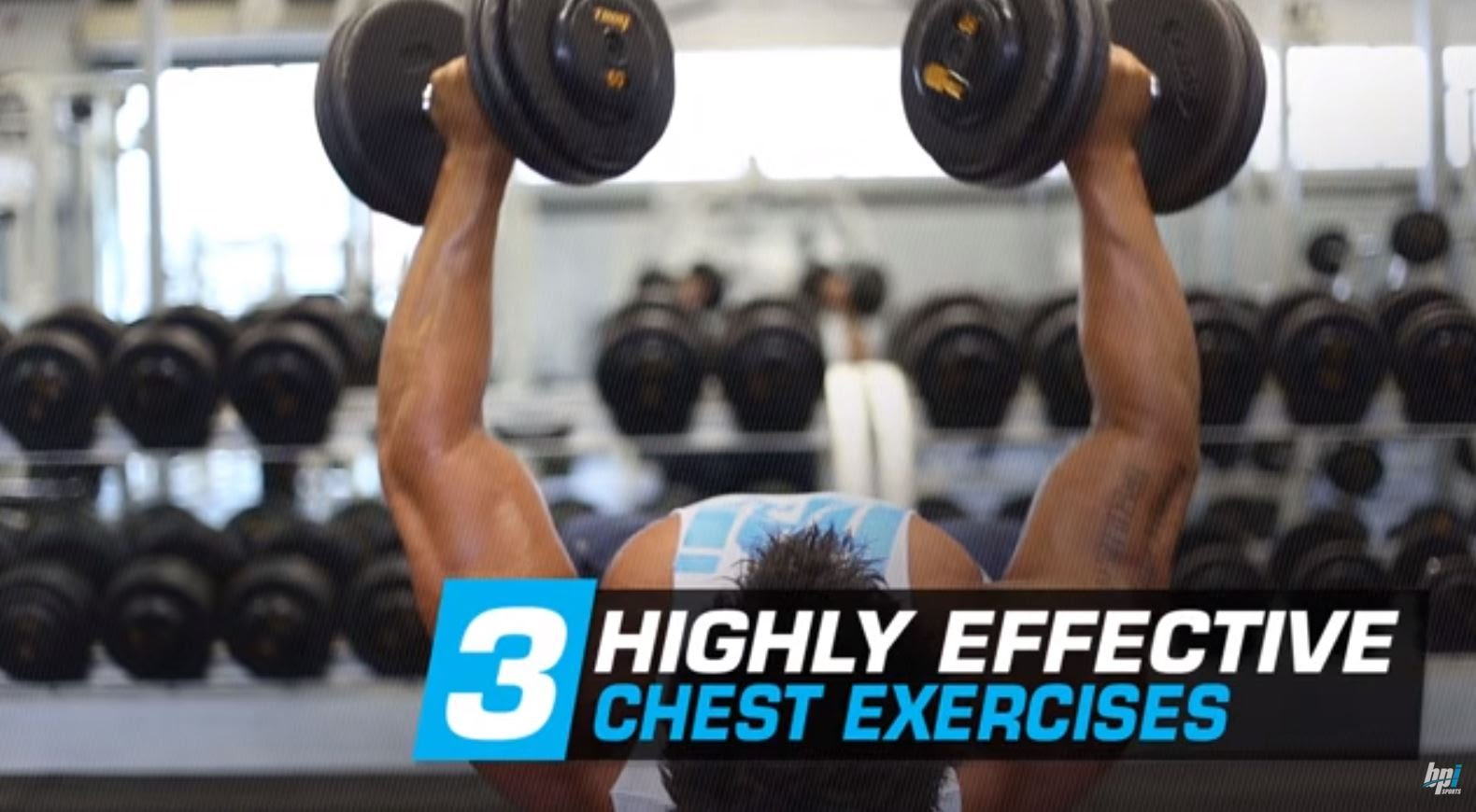 Three Mass-Building Chest Exercises with Tyrone Bell