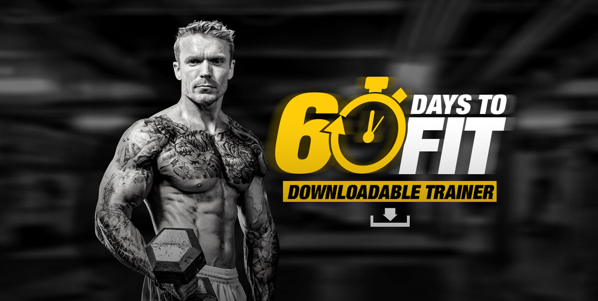 60 days to fit training program