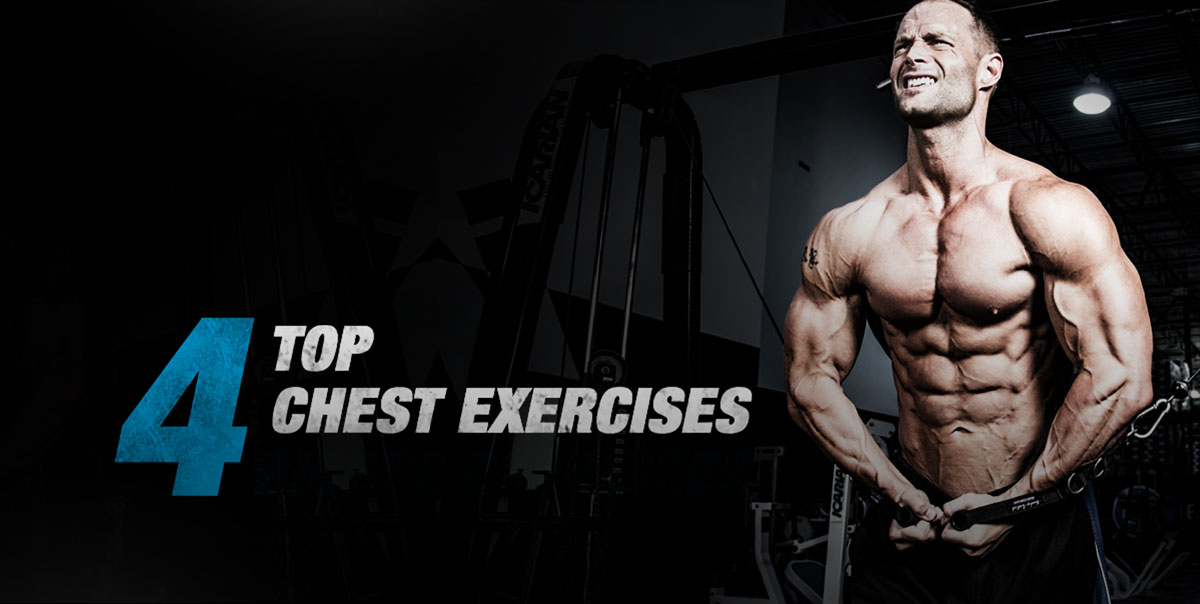 four top chest exercises